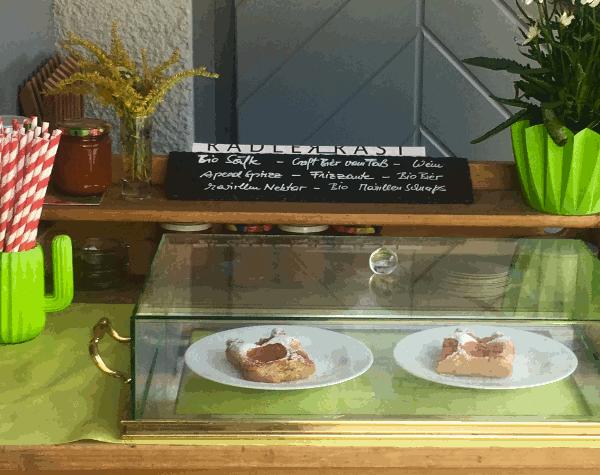 Aprikosen Kuchen am Donauradweg Wachau