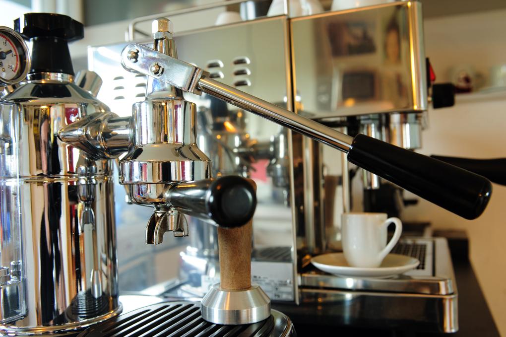 espresso maschine mit hebel