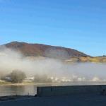 hinterhaus castle in the mist