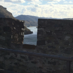 view from hinterhaus castle upstream
