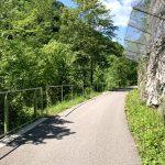 Auf der Eisenbahn Trasse der ehemaligen Ybbstalbahn