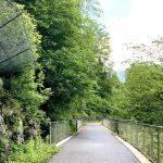 Auf der Trasse der ehemaligen Ybbstal Eisenbahn