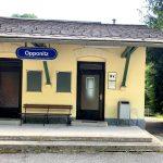 Der Bahnhof in Opponitz