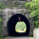 Blick durch den Opponitzer Tunnel von Nordosten nach Südwesten
