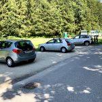 Ybbstalradweg Parkplatz in Hollenstein an der Ybbs