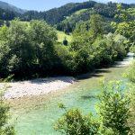 Die Ybbs zwischen Oberhofstatt und Fahrnlehen