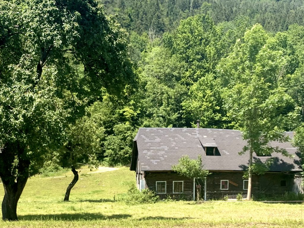 Bauernhaus am Ybbstalradweg