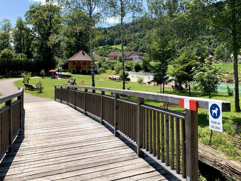 Göstlinger Flussbad im Dr. Stephan Park