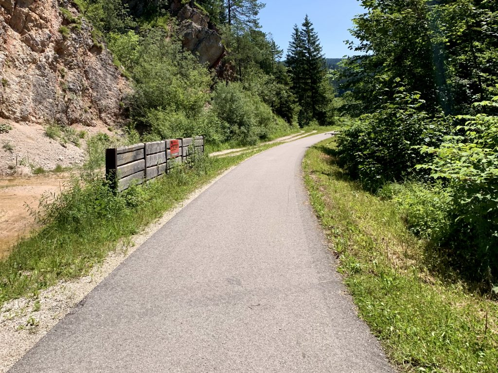 Am Ybbstalradweg nach St. Georgen am Reith