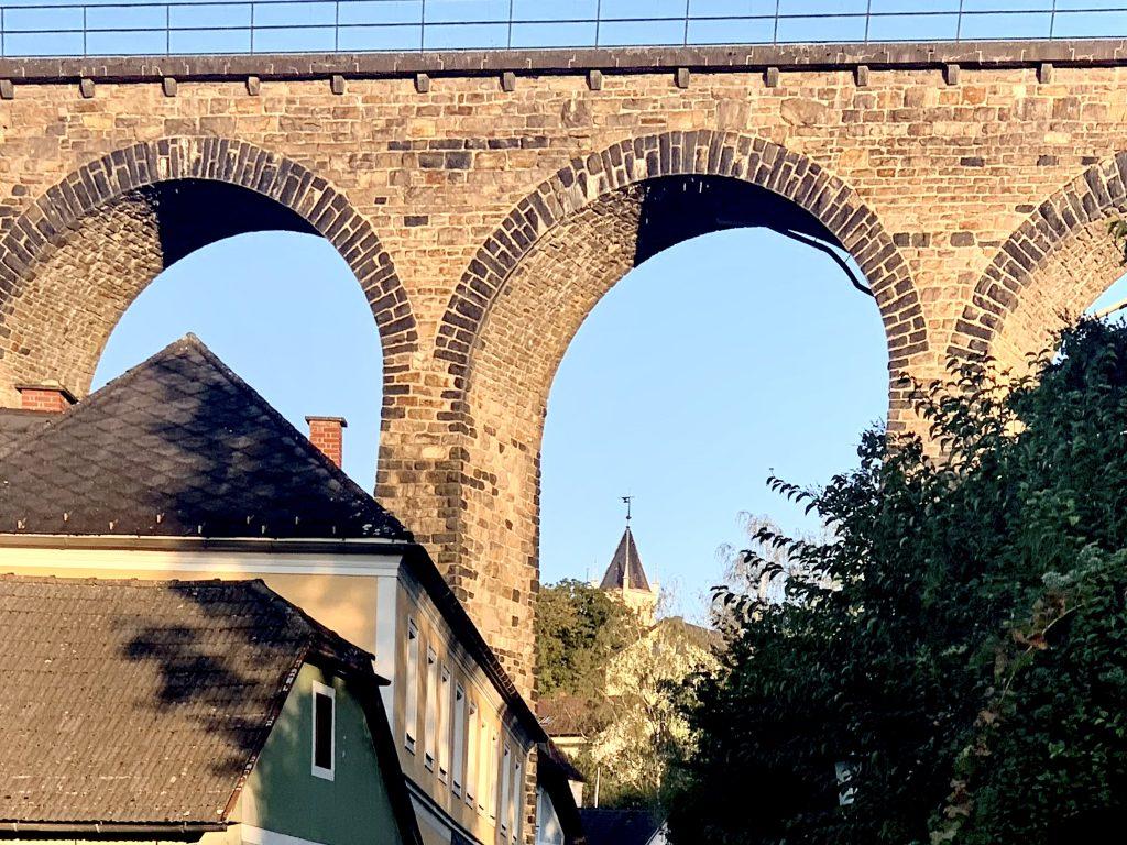 Viadukt der Wachaubahn in Emmersdorf
