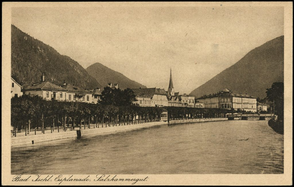 esplanade in bad ischl