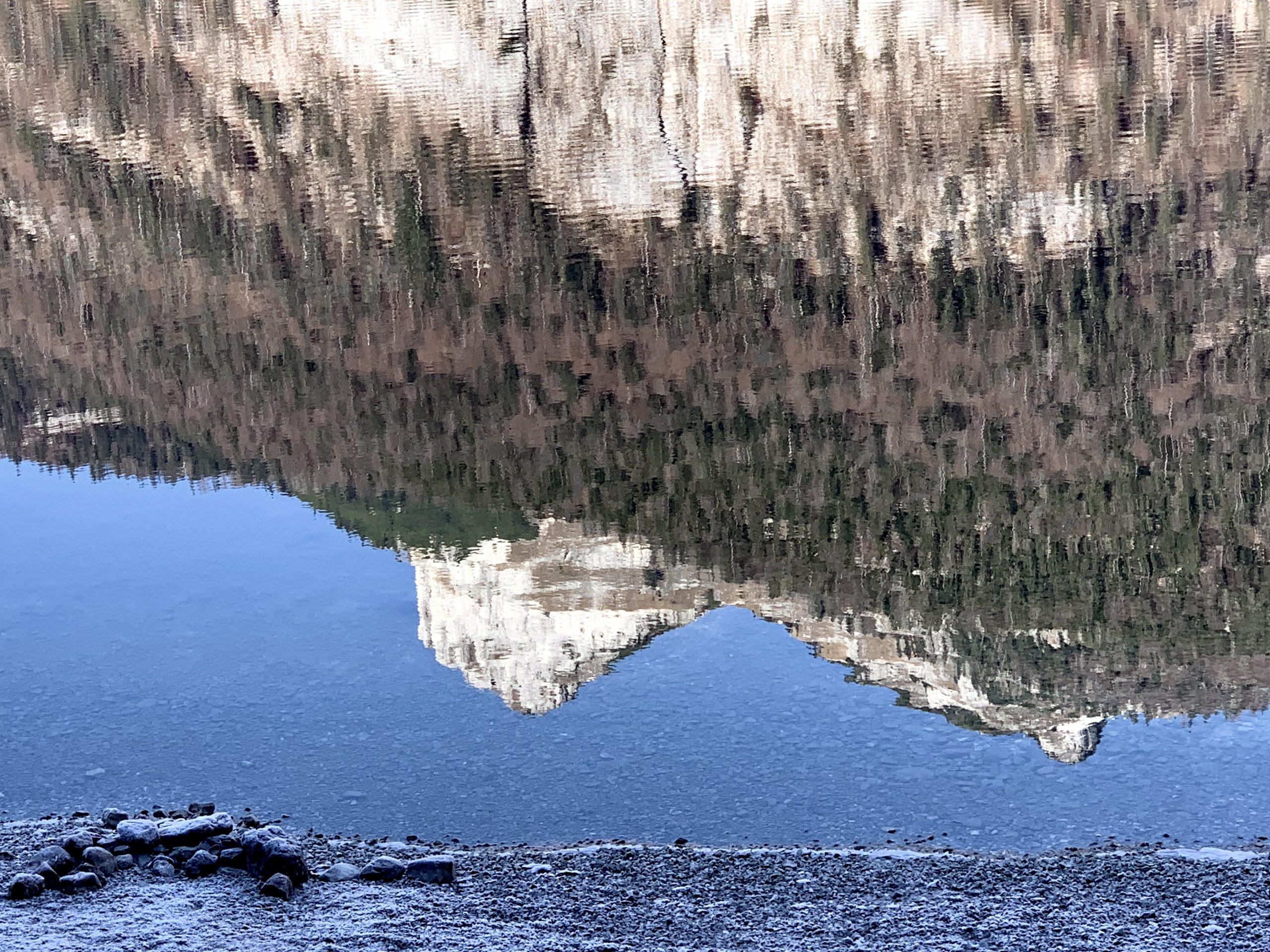Loser gespiegelt im Altausseer See
