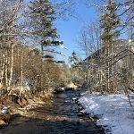 Der Ostrawitzbach im Winter