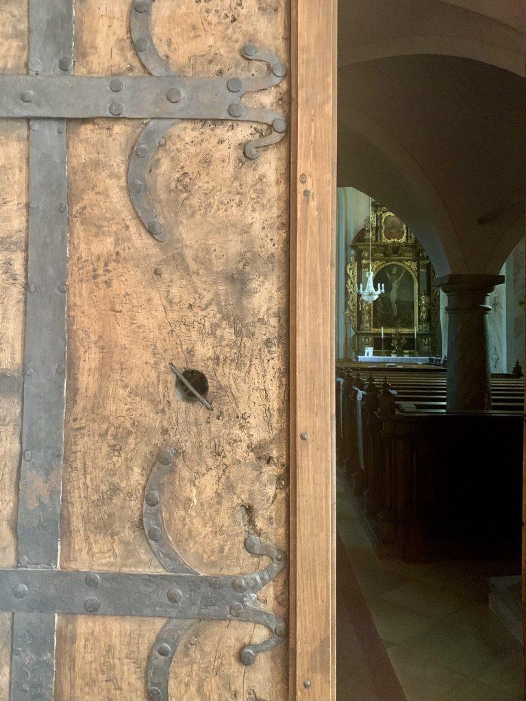 Portal der Wallfahrtskirche Maria Scharten