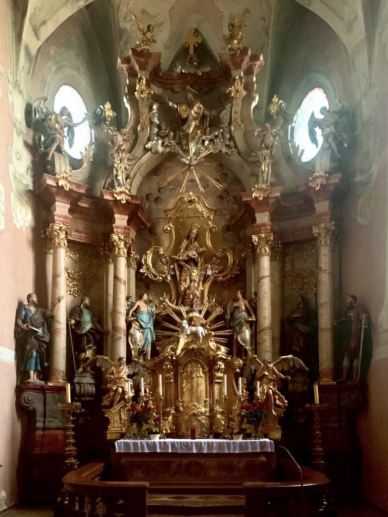 der hochaltar in maria scharten