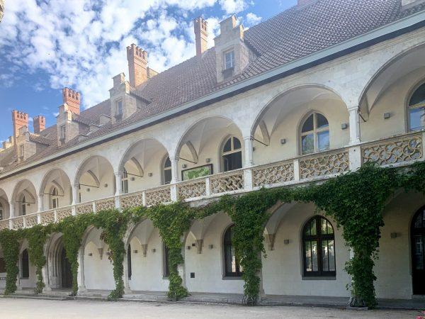 Arkadengang im Rothschild Schloss