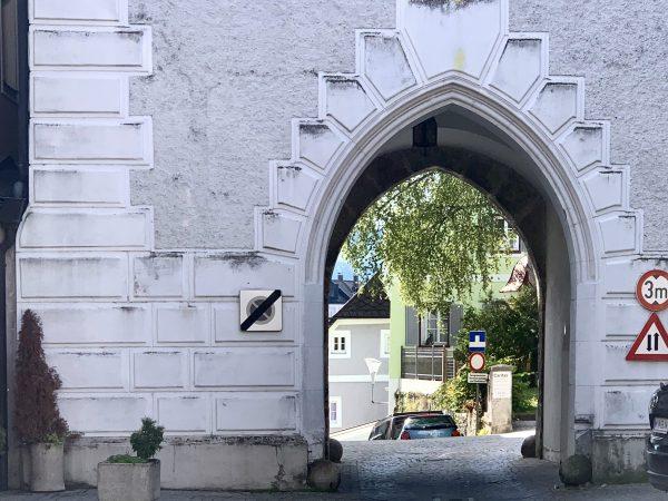Das Ybbstor in Waidhofen an der Ybbs