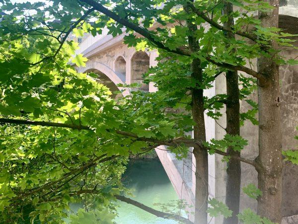 die Zeller Hochbrücke in Waidhofen an der Ybbs